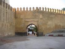 הכניסה למלאח כיום - צפרו מרוקו