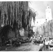 המלאח של צפרו תמונה היסטורית נדירה