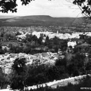 תצפית העיר צפרו בצילום היסטורי