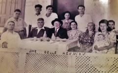 תמונה מהמסע לארץ ישראל 1951