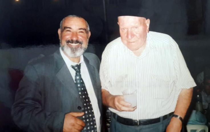 תמונה של ר' משה טובלי ור' ציון תורג'מן עליהם השלום
