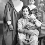 משפחת אביטבול בצפרו , משה עמרם , חנה רובידה , רפאל ושמואל