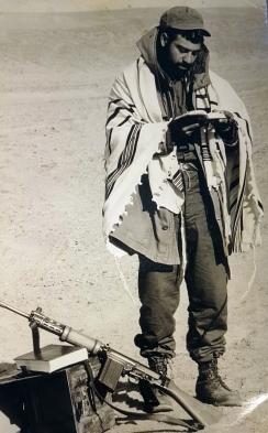 רבי ציון תורג'מן כלוחם במלחמת יום הכיפורים