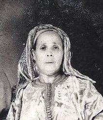 רבי רפאל מאמאן ורעייתו מרת אסטרלה לבית עטיה