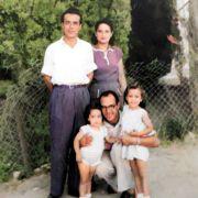 יצחק ממן אישתו ובנותיו עם יובל (מימון ) טובלי