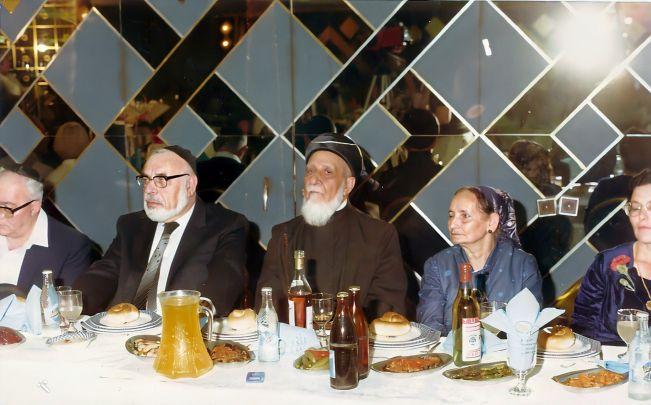 """הרב שמואל ע""""ה 1984 עם פנחס שיינמן ז""""ל , סגן יו""""ר הכנסת"""